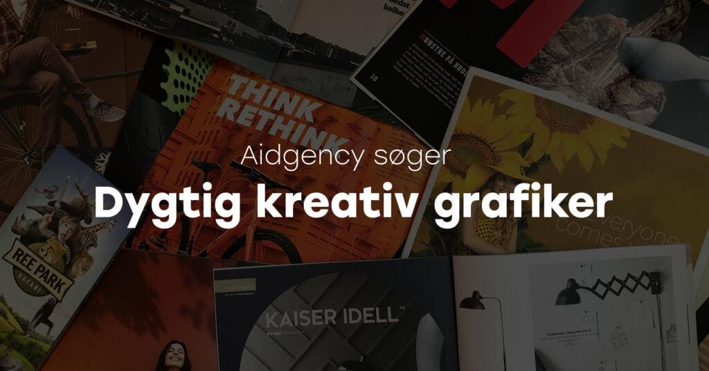 Vi s ger en ambiti s og kreativ grafiker rentegner for Grafiker jobs
